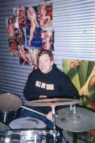 Derrick. Rehearsal space. Stockton, CA. Circa 2005
