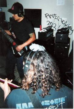 Fr. L: Phillip & Matt. Castle Ultimate Studios. Fall of 2003.