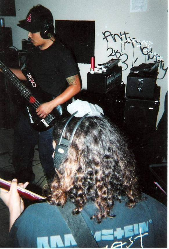 Fr. L: Phillip & Matt. Castle Ultimate Studios. Fall of 2003.