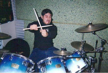 Phillip. Rehearsal space. Stockton, CA. Circa 2004