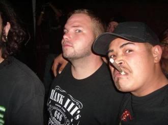 Fr. L: Derrick & Phillip. Circa 2004