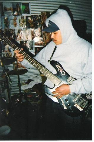 Phillip. Rehearsal space. Stockton, CA 2003