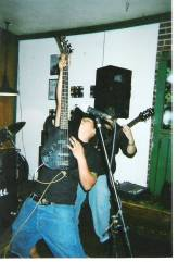 Fr. L: Phillip & Ray. HIS's 1st Show at the Blackwater Cafe - Stockton, CA. Fall 2003.