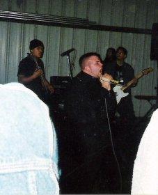 Fr. L: Phillip, Derrick, & Ray. Murphy's, CA. Winter 2003.