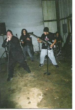 Fr. L: Derrick, Matt, & Phillip. Murphy's, CA. Winter 2003.