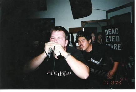 Fr. L: Derrick & Phillip. Blackwater Cafe. 2005